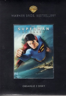 Superman se vrací 2DVD - Warner Bros. Bestsellery