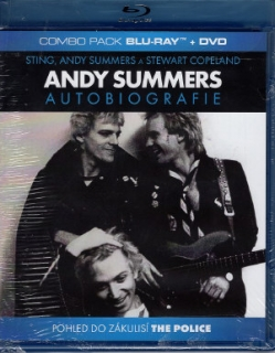 ANDY SUMMERS - Autobiografie / BD+DVD