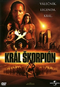 Král Škorpion DVD